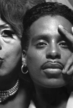 "Dorian Corey & Willi Ninja in ""Paris Is Burning"" (1990 documentary film, directed by Jennie Livingston)"