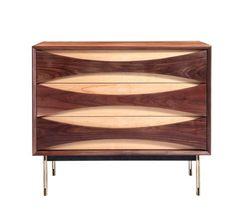 Hanna walnut cabinet by Organic Modernism