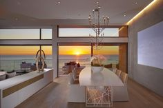 Horst #Architects together with interior design firm Aria Design have completed the Rockledge #Residence in Laguna Beach, California.
