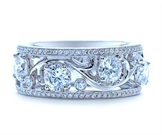 The Art Deco Collection | Catherine Ryder Diamond Ring Designs