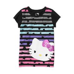 Hello Kitty Girls' Graphic Tee (€5,27) ❤ liked on Polyvore featuring baby and kids