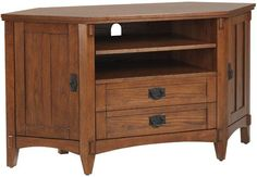 Artisan Corner TV Stand - Tv Stands - Home Theater - Furniture | HomeDecorators.com