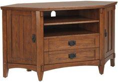 Artisan Corner TV Stand - Tv Stands - Home Theater - Furniture | HomeDecorators.com