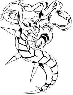 Giratina Tribal Tattoo by tei-tenshi on DeviantArt