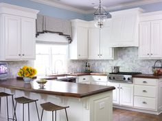 Completed projects - traditional - kitchen - atlanta - by The Design Atelier  Valance and shade