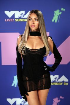 Madison Beer Hair, Estilo Madison Beer, Madison Beer Style, Madison Beer Outfits, Beer For Hair, Maddison Beer, Mtv Video Music Award, Music Awards, Mtv Videos