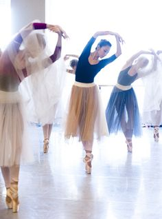 nationalballet: The Corps de Ballet are deep in rehearsal as the Wilis for Giselle.