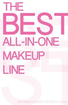 The BEST All-in-One Makeup Line