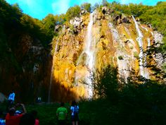 The largest waterfall is 78m high.