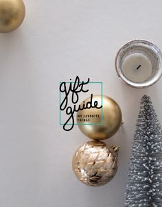 This year's gift guides are live! We begin with my favorite things. From basics to kitchen favorites, there's something for every cook, creative, and lady on your list.