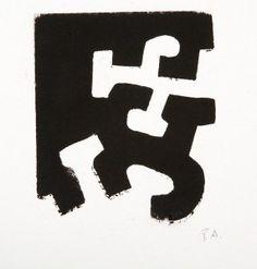 "Eduardo CHILLIDA JUANTEGUI (San Sebastián, 1924 – 2002). ""Usma III""."