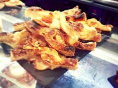 Bar Beitia – Hojaldre con calabacín, queso y bacon
