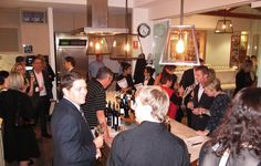 The Gourmet Belle Wine Circle Launch - at Spring in Brisbane - 9 May 2012