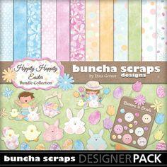 "Buncha Scraps Easter ""Hippity Hoppity"" Digital Collection"