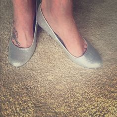 """Call It Spring High Heels 2"""" Call it Spring glittery silver, perfect for evening wear. Call It Spring Shoes Heels"""