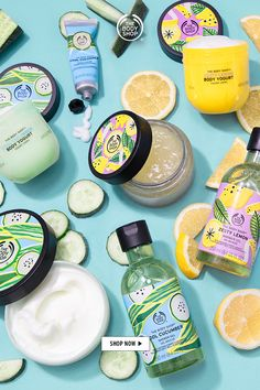 The Body Shop, Body Shop At Home, Body Shop Skincare, Fresco, Summer Body, Summer Skin, Natural Cleaning Products, Smell Good, Shower Gel