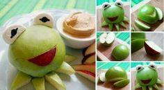Kermit de kikker appel