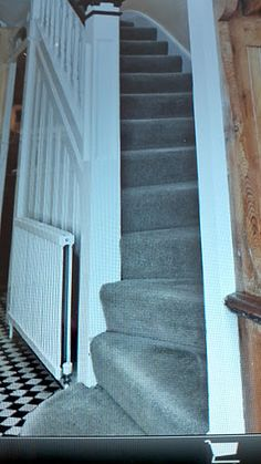 Times on Sunday pic from house - idea for turning stairs to make them less steep