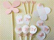 Festa Expressa - Borboleta - Tuty - Arte & Mimos www.tuty.com.br O kit está disponível a pronta-entrega. É só adquirir no site e você recebe em poucos dias em sua casa, tudo prontinho para usar. Entre em contato com a gente! www.tuty.com.br #festa #personalizada #pronta #party #tuty #bday #chadebebe #baby #shower #borboleta #butterfly #vintage #pink