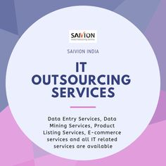 Data Entry Services, Data Mining Services, Product Listing Services, E-commerce services and all IT related services are available from Saivion India. Data Entry, Ecommerce, Chart, How To Get, India, Goa India, Data Feed, E Commerce, Indie