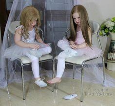 Eva and Angela. Reborn dolls Elena Yadrin / Dolls Reborn: the production of their own hands, photo, master / Beybiki. Reborn Toddler Dolls, Reborn Dolls, Baby Dolls, Silicone Reborn Babies, Twin Babies, Bunnies, Doll Clothes, Bears, Reborn Babies
