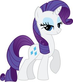 Rarity As She Looks In The Season Two Cast Poster