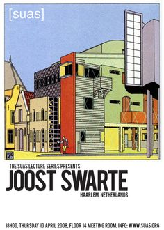 Dutch cartoonist and graphic designer Joost Swarte