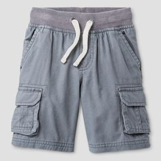 Baby Boys' Cargo Shorts Cat & Jack Proper Gray 12 M, Infant Boy's, Size: 12 Months