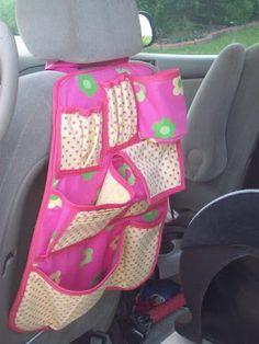 Organizador para bebé en el auto