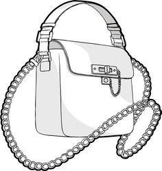Geschmeidige Ketten an Taschen / nani coldine in Zusammenarbeit mit DMI