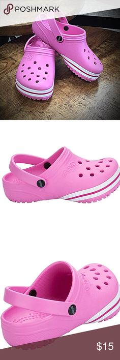 251f1347b6a9b NWT Kids Toddlers Crocs Jibbitz In Pink Girls 11 Children Girls Crocs Kilby Clog  Crocs in