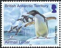 Adelie Penguin stamps - mainly images - gallery format