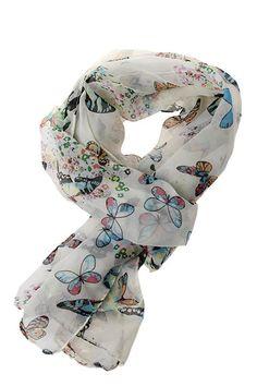 New Fashion Women  Printing Shawl Wraps  Chiffon  Neck Scarf