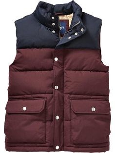 Men's Color-Blocked Frost Free Vests Product Image