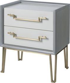 Iron Eye Nightstand by Jean Louis Denoit