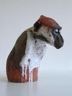 Unique and Limited Edition Ceramic Sculpture. - Nichola Theakston Ceramic Sculpture
