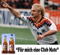 """Für mich eine Club-Mate"" Football Kits, Football Players, Trainer, Soccer, Club, Legends, Mens Tops, Shirts, Unique"