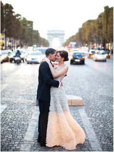 This is a great Champs Elysees shot