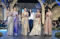 Deena Rehman Bridal Dresses at PFDC L'Oreal Paris Bridal Week 2013. Love the one on the right.