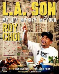 """L.A Son - click here for NPR's interview (text + sound file) with Roy Choi, now-famous LA food truck """"king."""" Great interview for a variety of reasons: tips on the meditative process of cleansing rice, to stories about growing up with a mother who supported the family by selling her kimchi. He describes her assertive style as """"gansta spirit."""""""