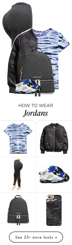 """""""leather jacket"""" by fashion123123 on Polyvore featuring Proenza Schouler, Casetify and MICHAEL Michael Kors"""