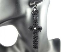 Kolczyki sutasz   Stylenaut  #soutache #earrings