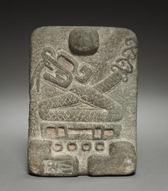 , Classic Period, stone, Overall: x x cm x 5 x 1 inches). Gift of John Wise Early Modern Period, Cleveland Museum Of Art, Art Carved, Inca, Indigenous Art, Ancient Jewelry, Mexican Folk Art, Ancient Artifacts, Ancient Civilizations