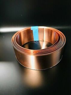 "each roll 20/"" x 10/' - 12 oz // 16 MIL Copper Roll Flashing 2 Rolls!!!"