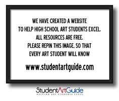 Worth checking out! Older art students or some established artists will get ideas and good info too! Especially if they were not given good teaching when they were in high school.