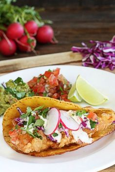 Authentic Fish Tacos w/Lime Herb Mayo - The Hopeless Housewife®