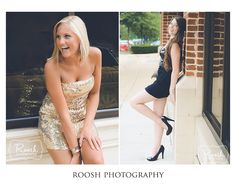 Two of my fun and gorgeous reps! A fun senior portrait shoot at Fairfax Corners in Fairfax, VA.