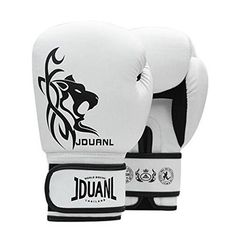 Boxing Gloves Adult Fighting Training gloves Muay ThaiWhite ** Read more at the image link.