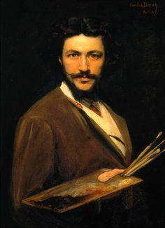 """Charles Auguste Émile Durand, called Carolus-Duran, """"Self-portrait"""""""