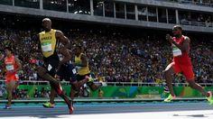 Bolt file en demi-finale sans forcer Vicaut à la limite